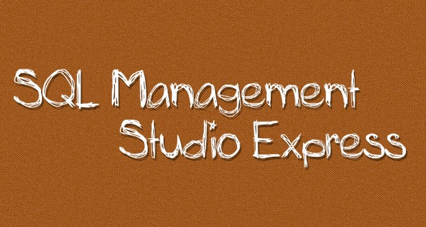 نرم افزار SQL Management Studio Express