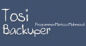 نرم افزار Tosifi Backuper